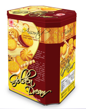 Bánh hộp GOLDEN DREAM 700g