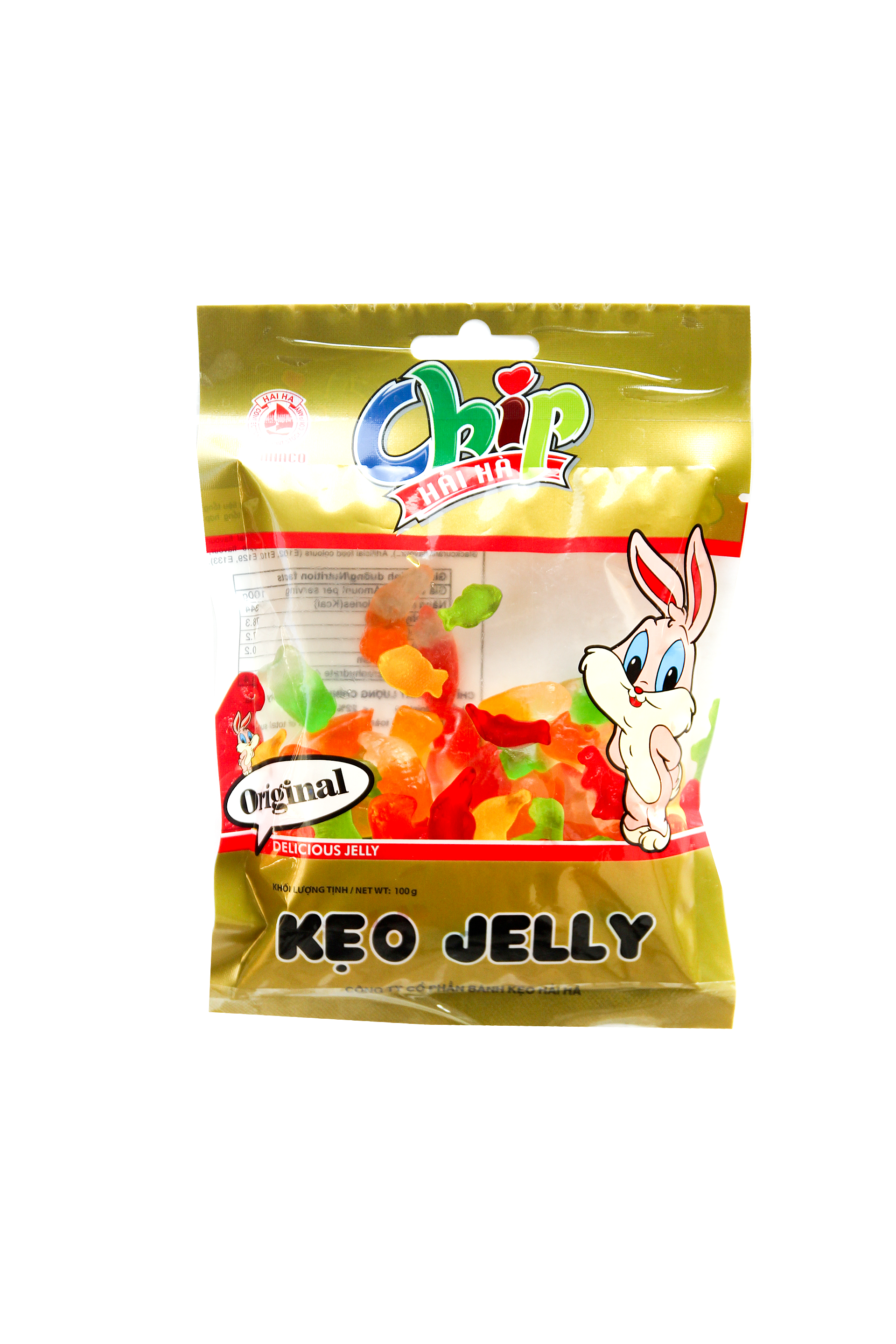 Kẹo Jelly Chip 100g