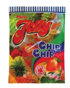 Kẹo Jelly Chip 100g 2 lớp