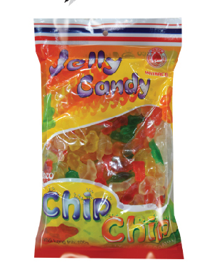 Kẹo Jelly Chip 500g