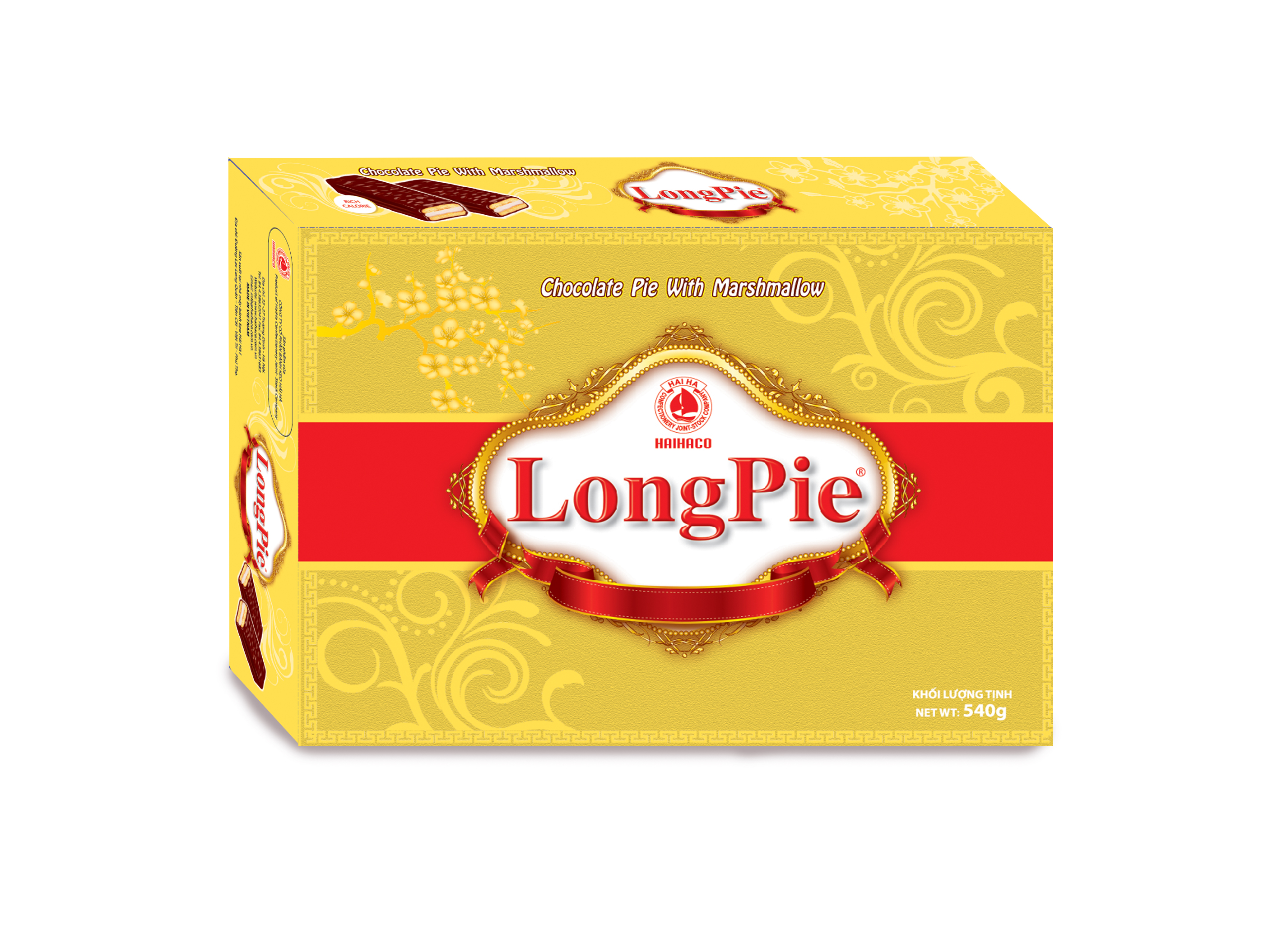Bánh LONGPIE Luxury 540g